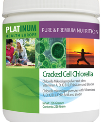 Chlorella Pulver Platinum Europe